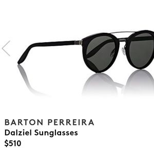 bd960257d9 Exclusive Dalziel Sunglasses by Barton Perreira